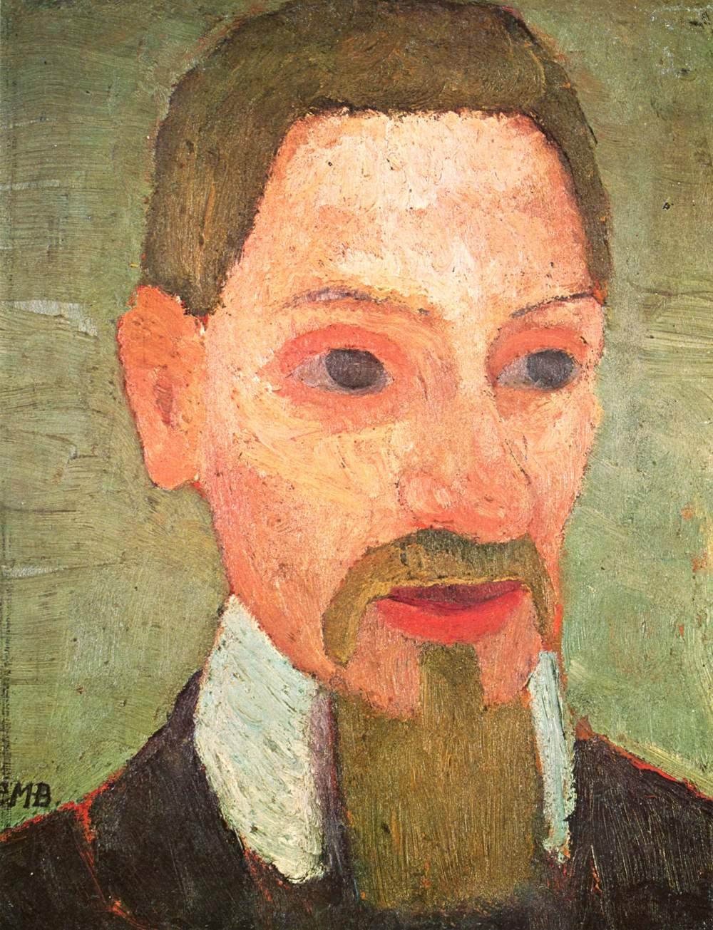 R.M. Rilke, porträtterad av Paula Modersohn Becker