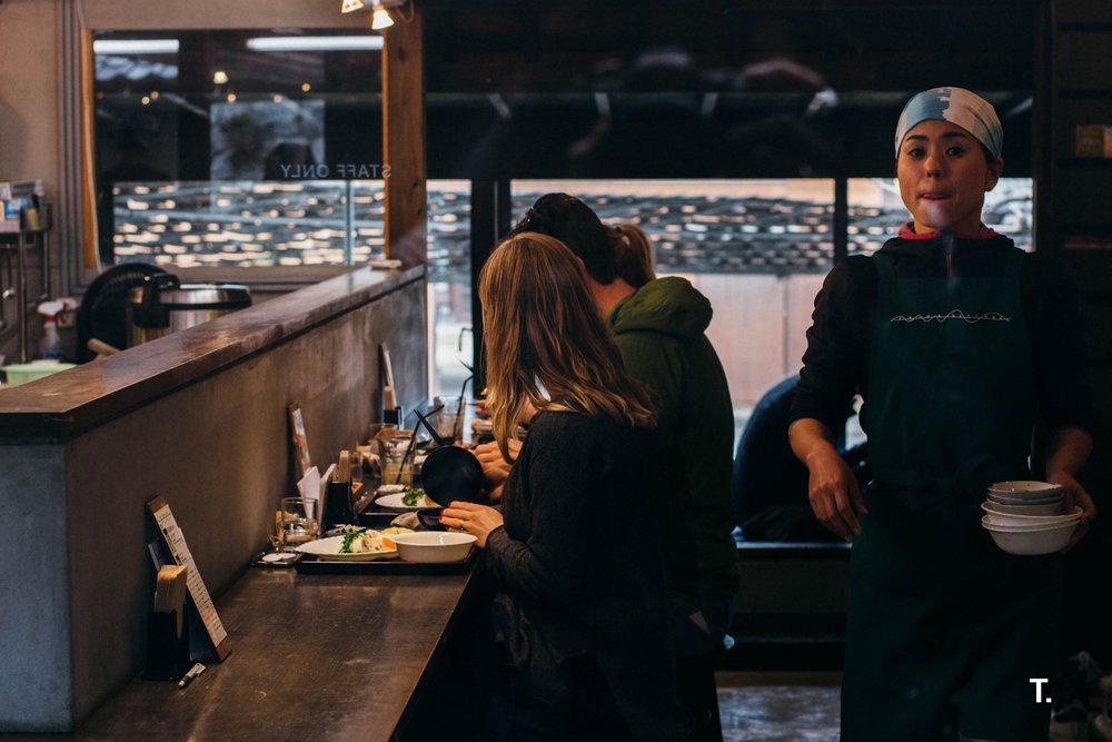 Shima Kitchen on Teshima Island