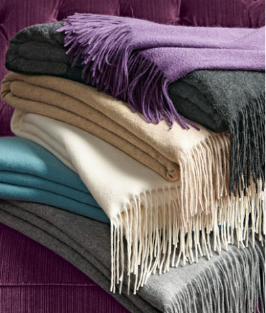 Neiman Marcus - Sofia Cashmere Throw