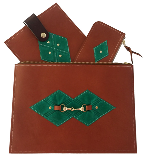 - Leather accessories to include travel necessities, jewelry & decorative tassels.