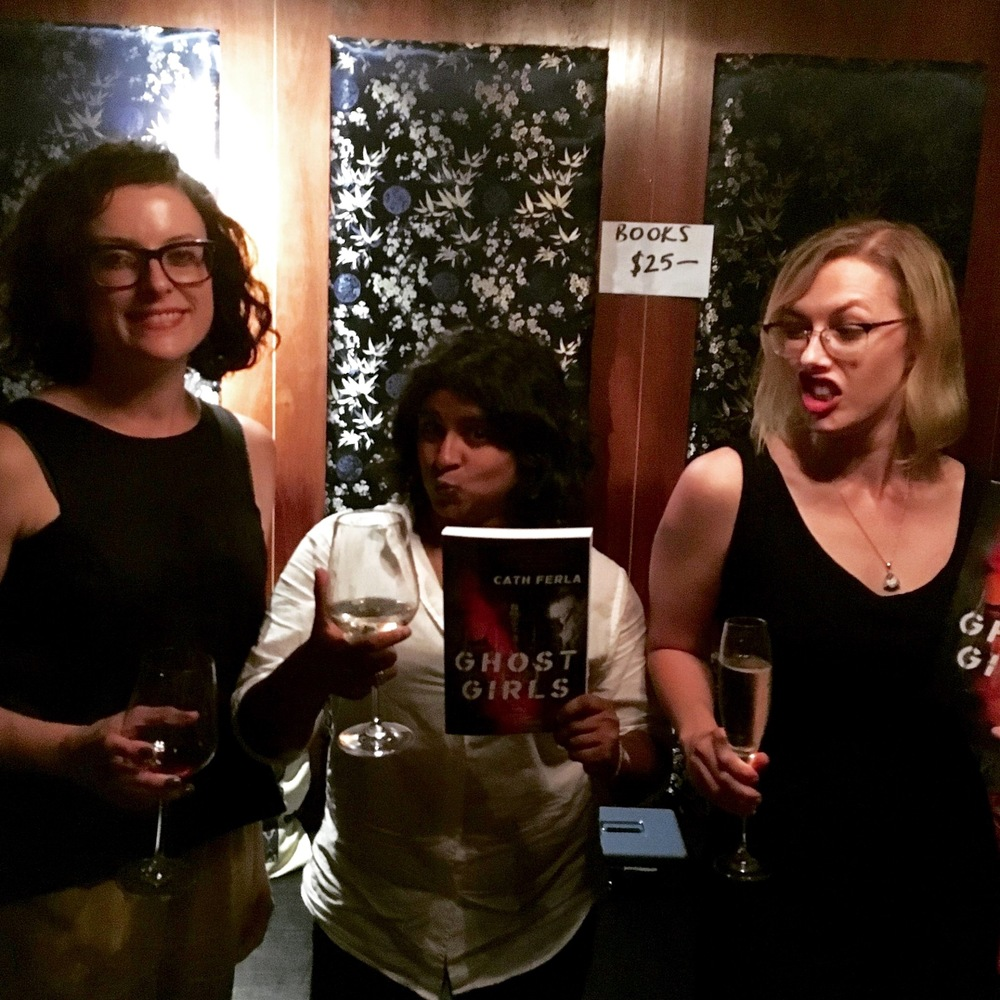 Kirstin Corcoran, Sabita Naheswaran, Angela Meyer (team Echo)