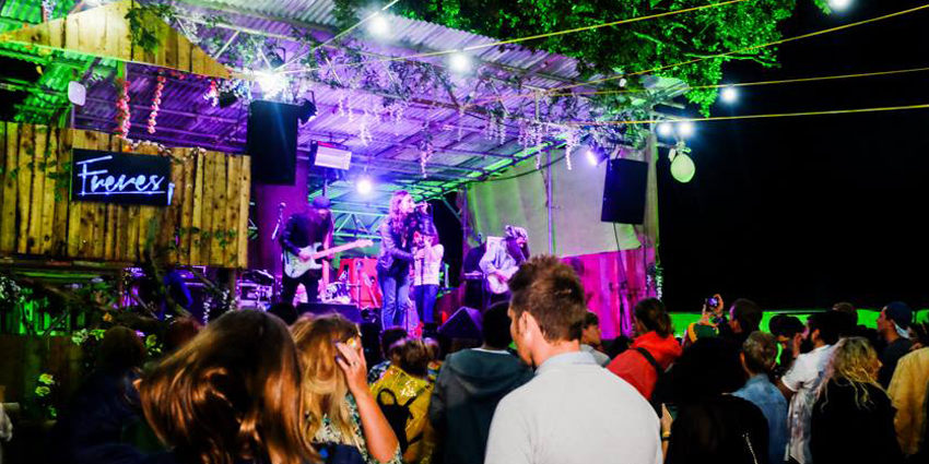Freres Stage host Brownstock Festival - Youth Club.