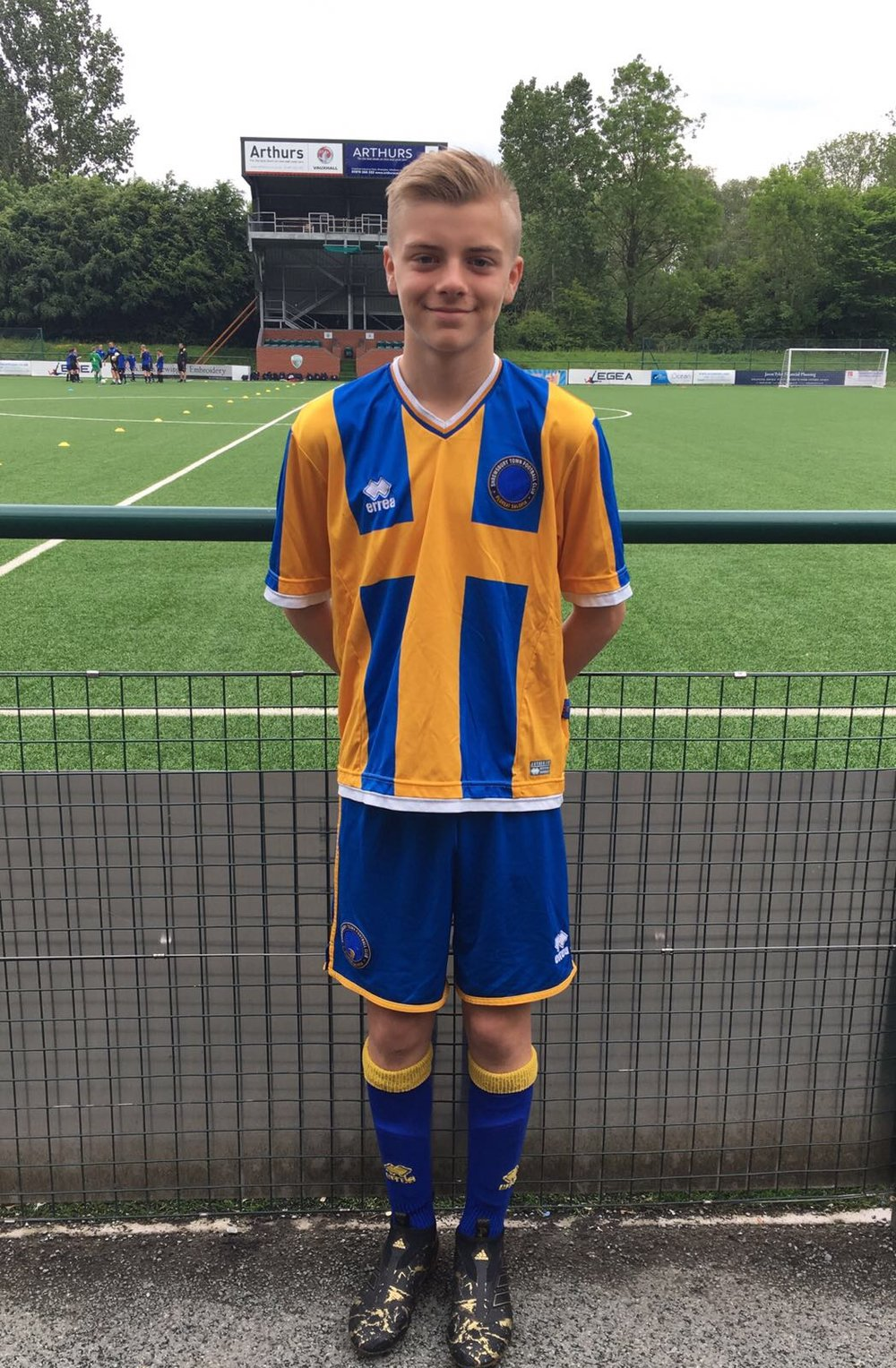 LUKE FLETCHER - AGE: 12CLUB: SHREWSBURY FCPOSITION: FORWARDSTARTED IPDA: 7TH JUNE 2016SIGNED FOR ACADEMY: 12TH MAY 2017