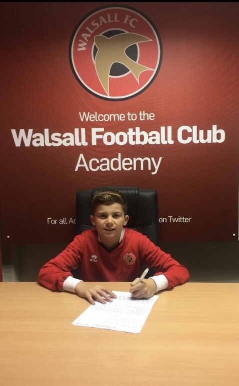 DANNY CARTWRIGHT - AGE: 13CLUB: WALSALL FCPOSITION: CENTRE MIDFIELDSTARTED IPDA: 13TH MARCH 2016SIGNED FOR ACADEMY: 3RD MAY 2018