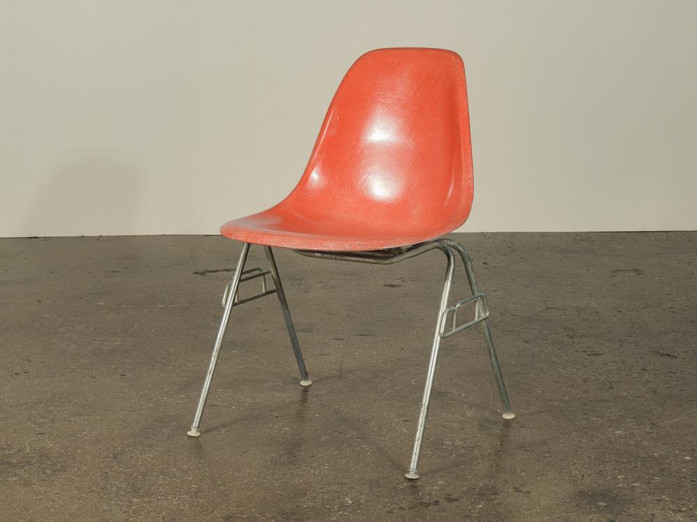 Orange Eames Shell Chair