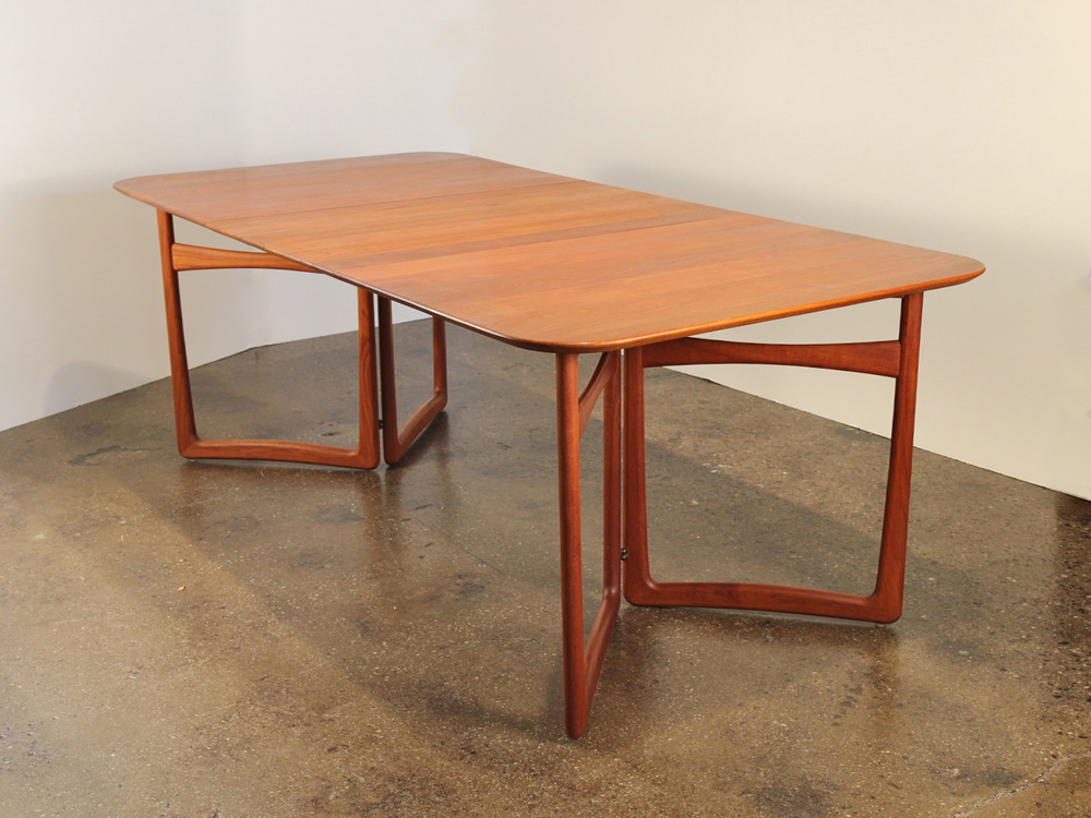 Peter Hvidt and Orla Mølgaard Nielsen Teak Dining Table