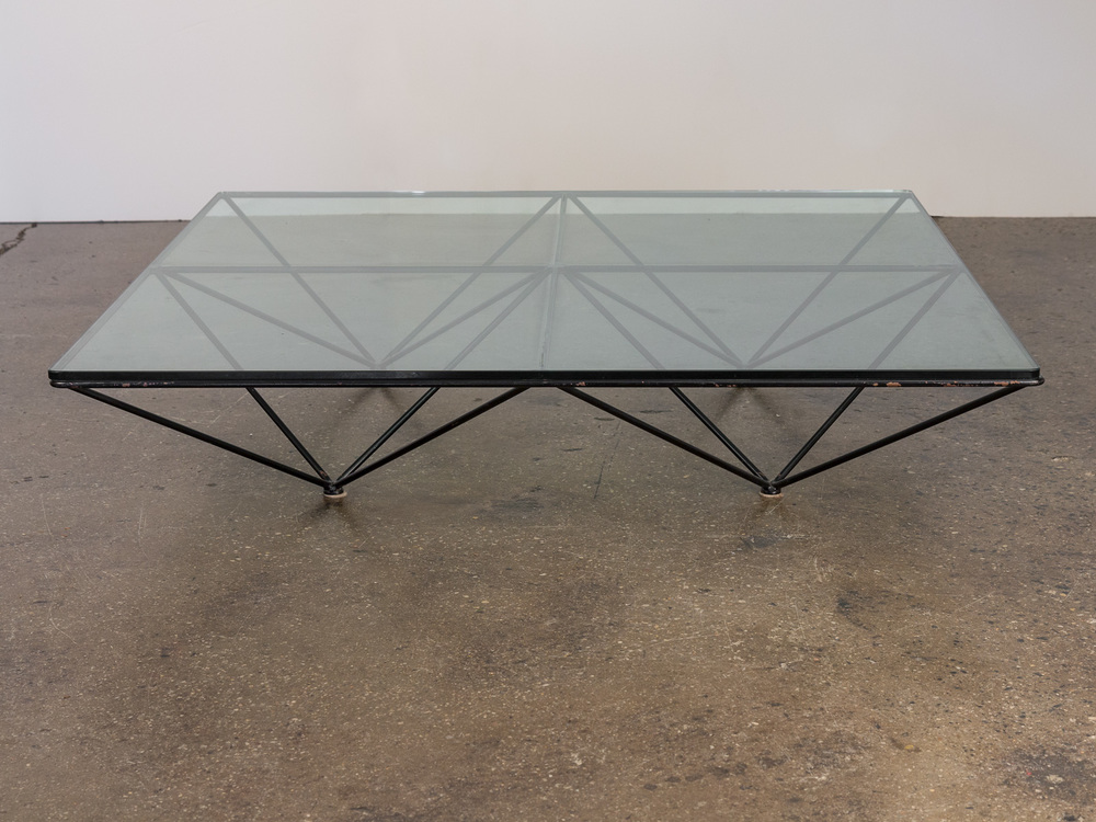Paolo Piva Alanda Glass Coffee Table