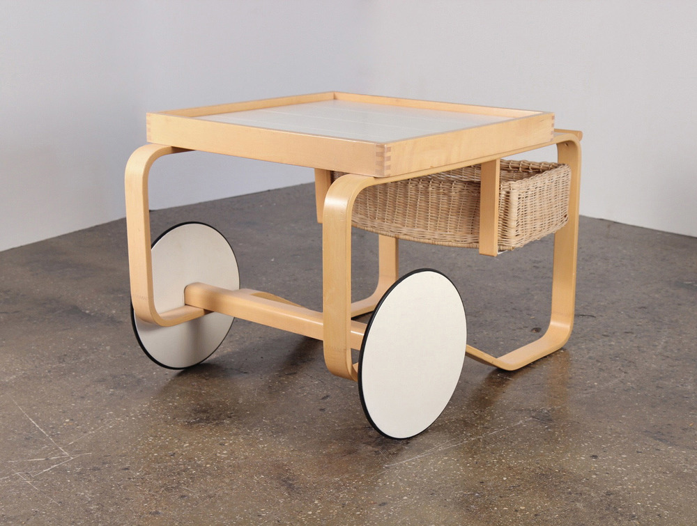 Alvar Aalto Tea Trolley or Bar Cart