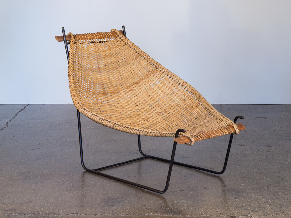 Danny Ho Fong Rattan Lounge Chair
