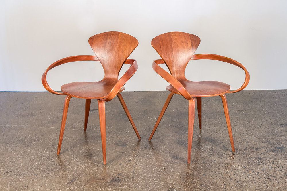 Norman Cherner Preztel Chairs