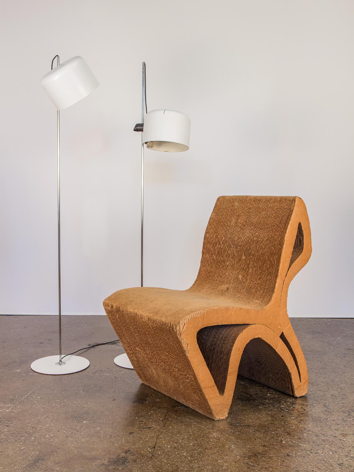 Vintage Corrugated Cardboard Chair Oam