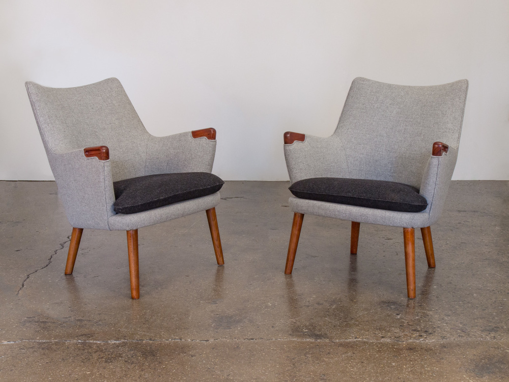 Hans J. Wegner AP20 Easy Chairs