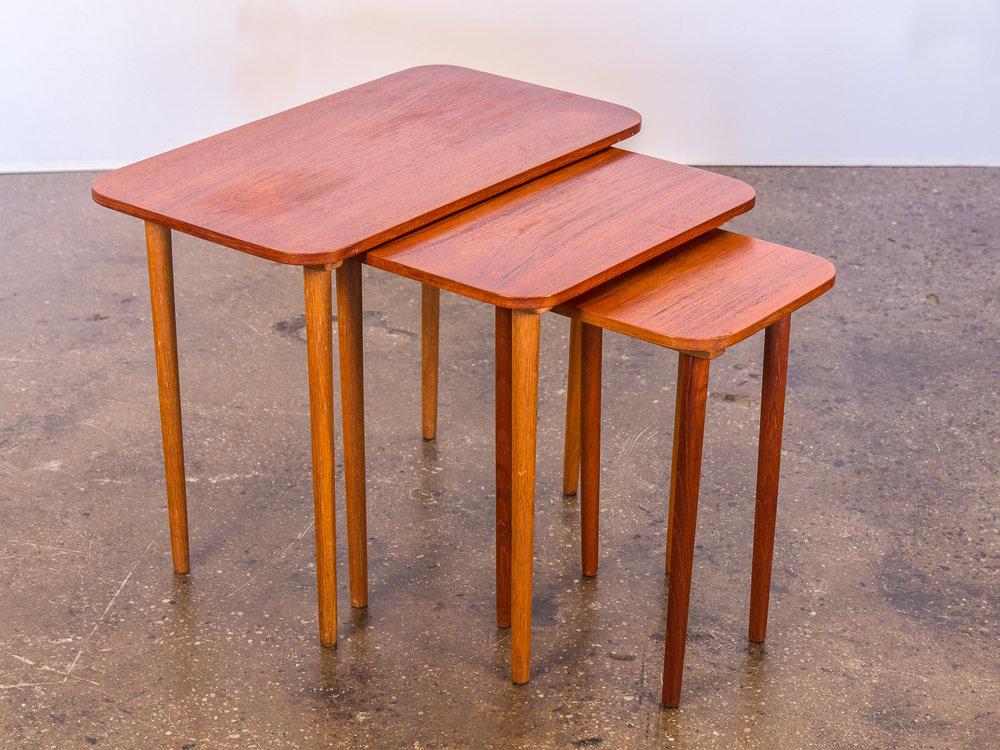Open_air_modern_teak_danish_modern_nesting_tables 1  Open_air_modern_teak_danish_modern_nesting_tables 2 ...
