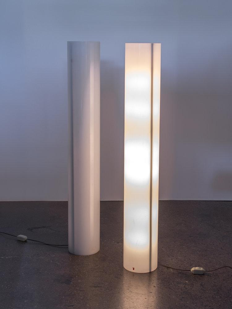 Pair of Column Floor Lamps by Paul Mayen — OAM