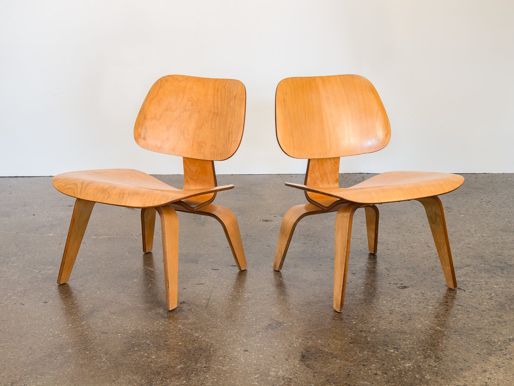 Vintage Eames LCW Chairs