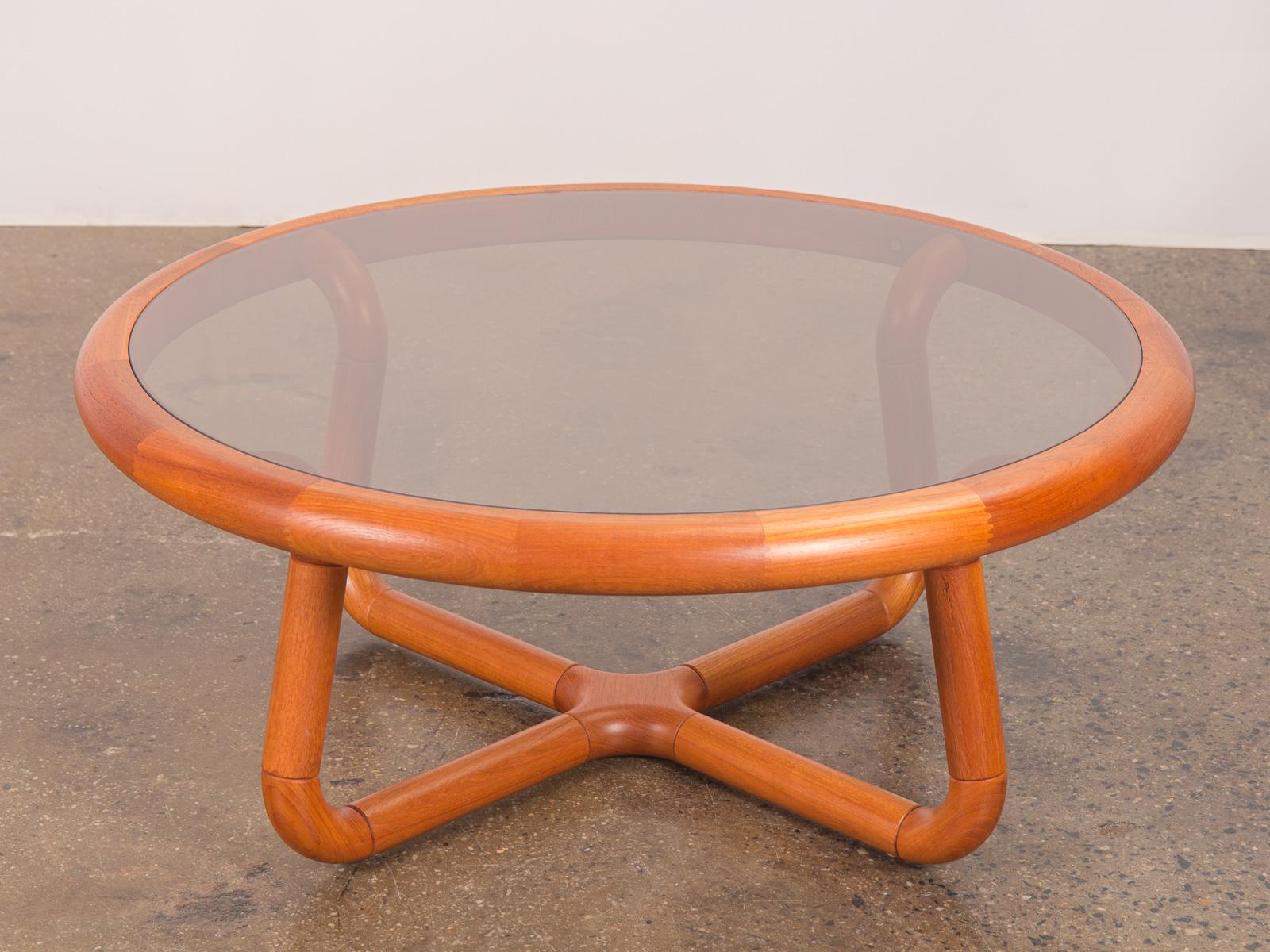 Glass Sculptural Coffee Table for Uldum — OAM