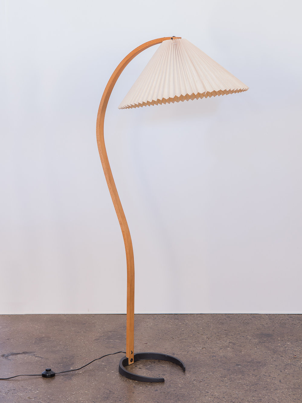 Mads Caprani Pleated Shade Floor Lamp