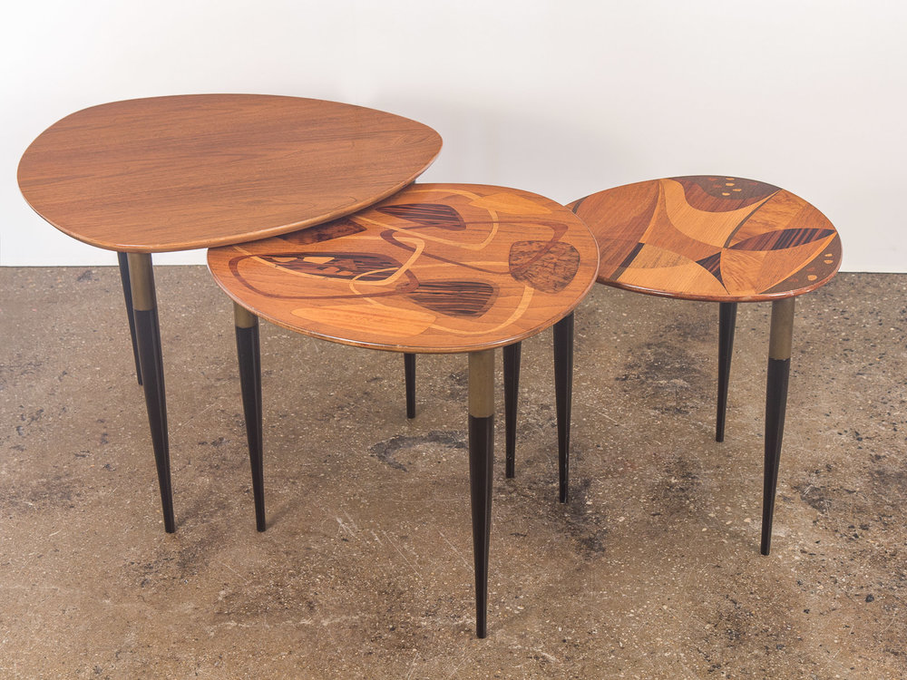 Erno Fabry Nesting Tables