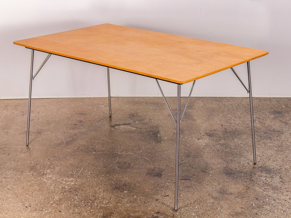 Eames DTM Birch Folding Table