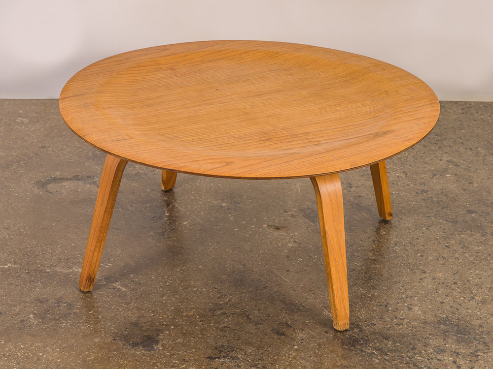 Open_air_modern_eames_ctw_molded_plywood_round_coffee_table 1  Open_air_modern_eames_ctw_molded_plywood_round_coffee_table 2 ...