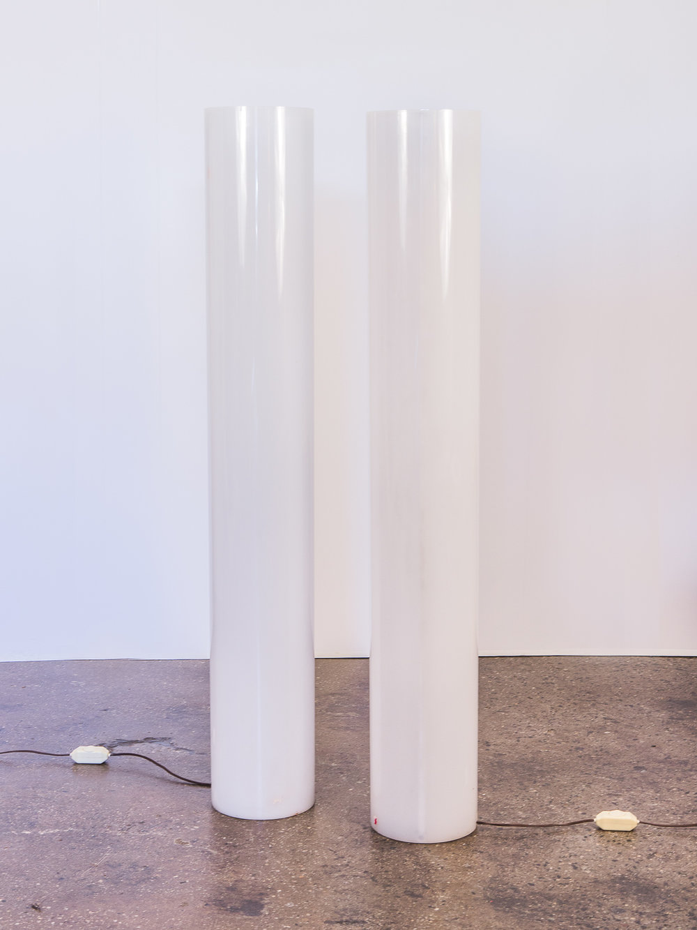 Paul Mayen Column Floor Lamps
