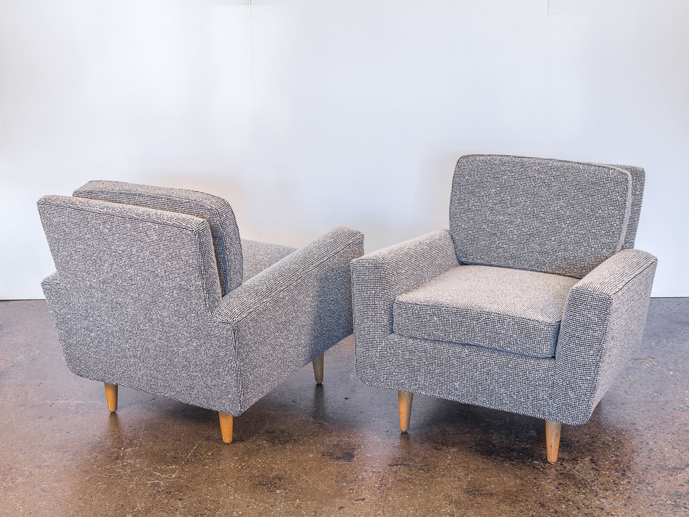 Florence Knoll Model 25 Lounge Chairs