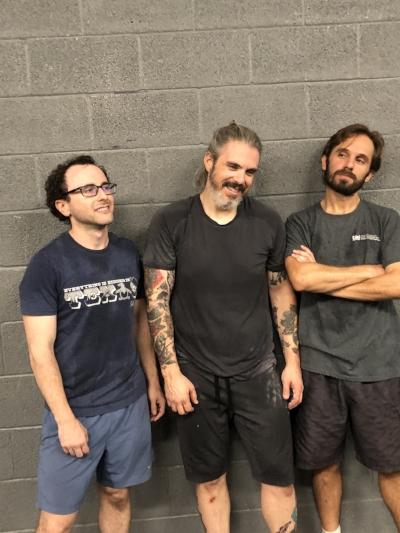 Richard, Brian, and Felipe