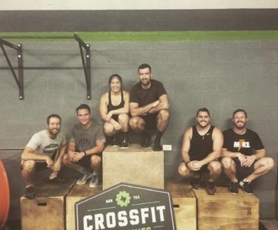 Coach Kyle, Juan, Elaine, Mike G., Logan, Mike B.