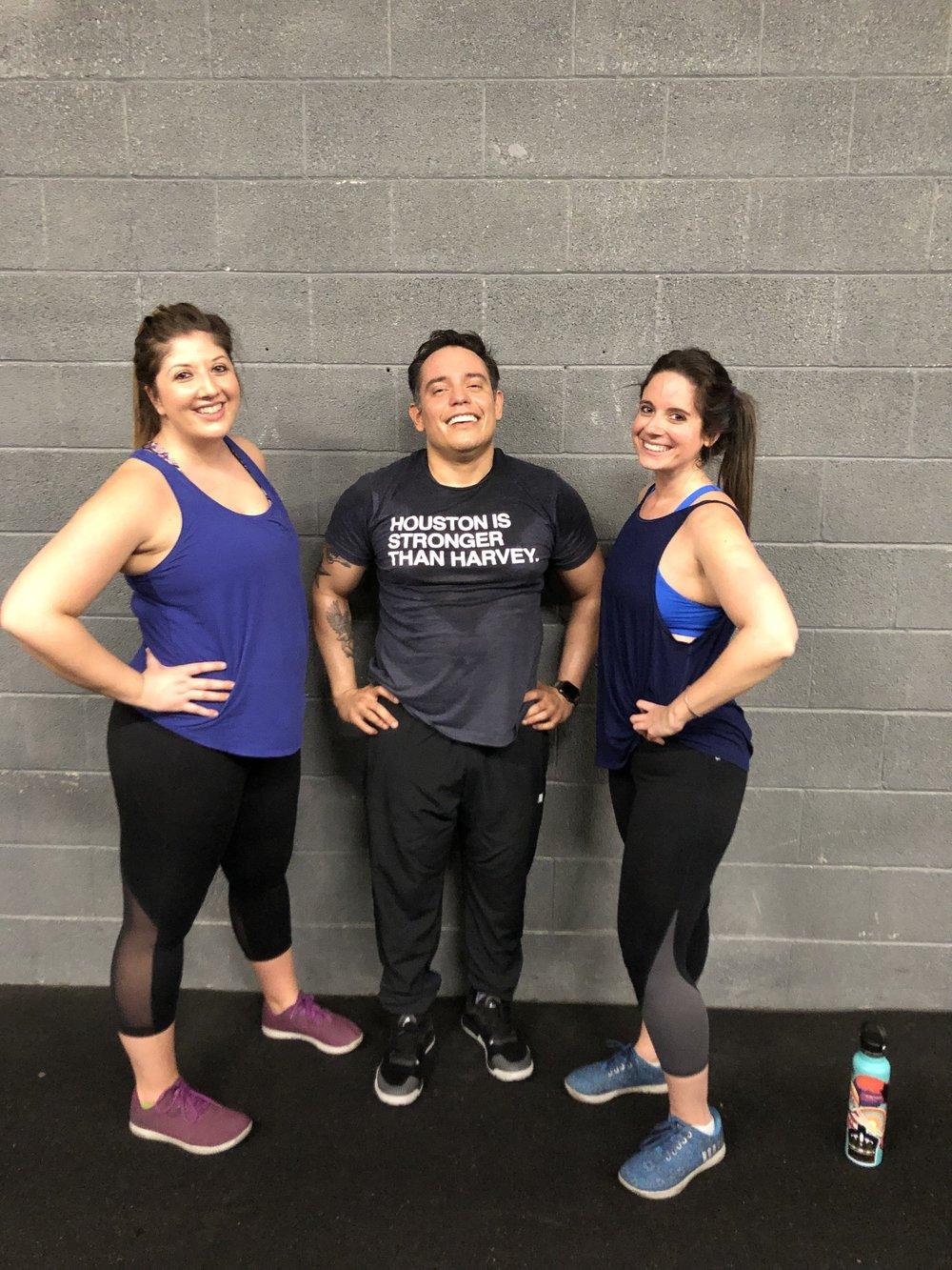 Allie, Manny, Samantha: CFCL Original Members