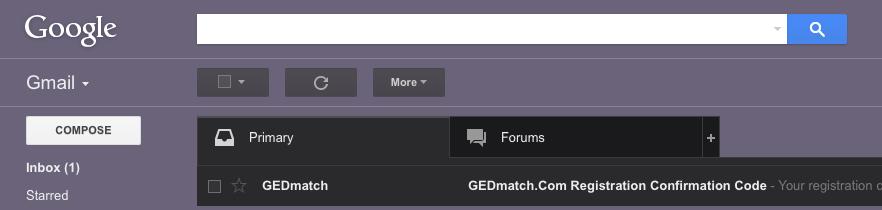 GEDmatch email