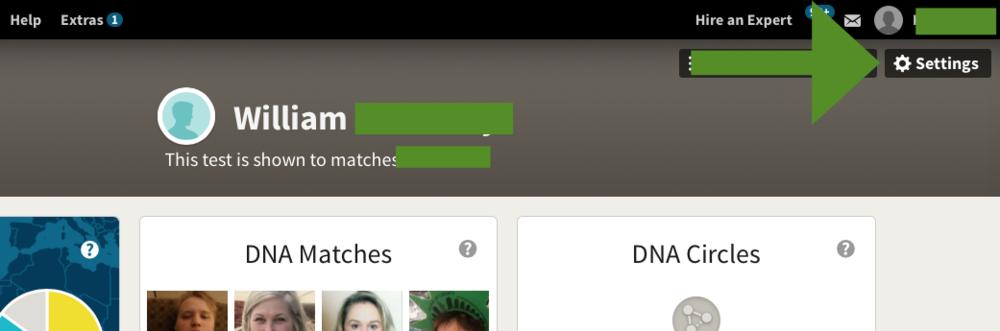 ANcestryDNA Raw Data Download Step 3