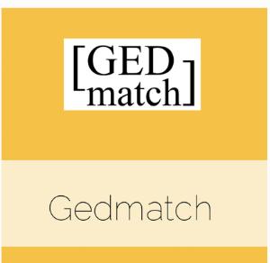 GEDmatch logo thumbnail