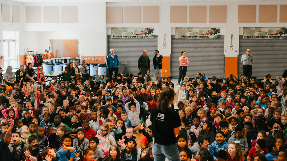 Teaching at Treeline Elementary School