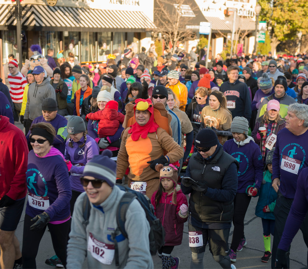 2017 Bonfield Express 5K photos are in. Thank you for being part of a Downers Grove Thanksgiving tradition!
