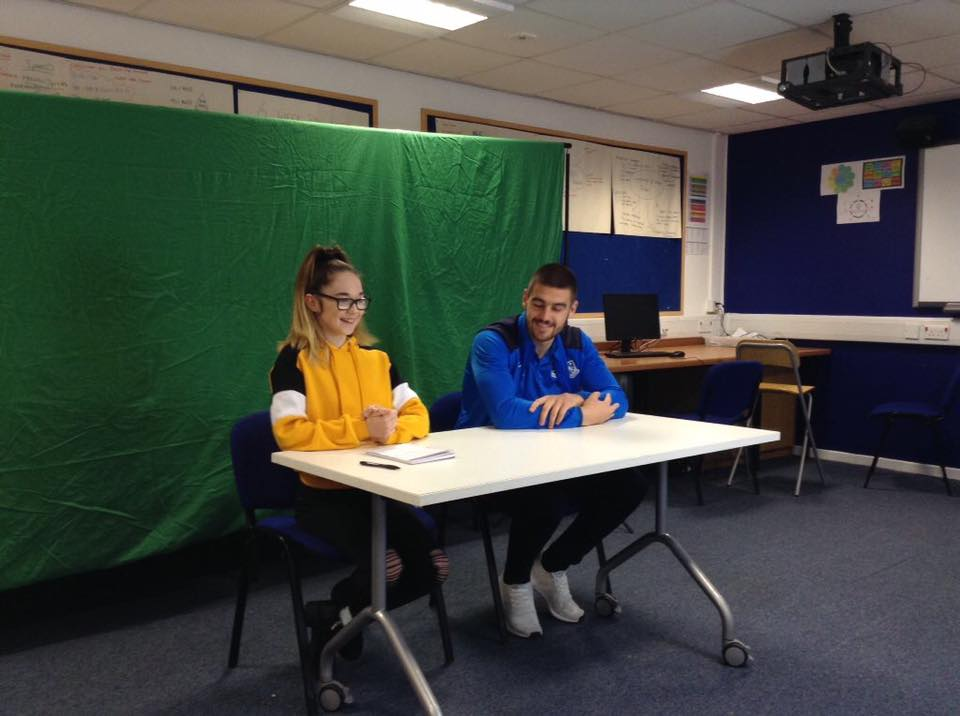 Sports Media - Green Screen Interviews