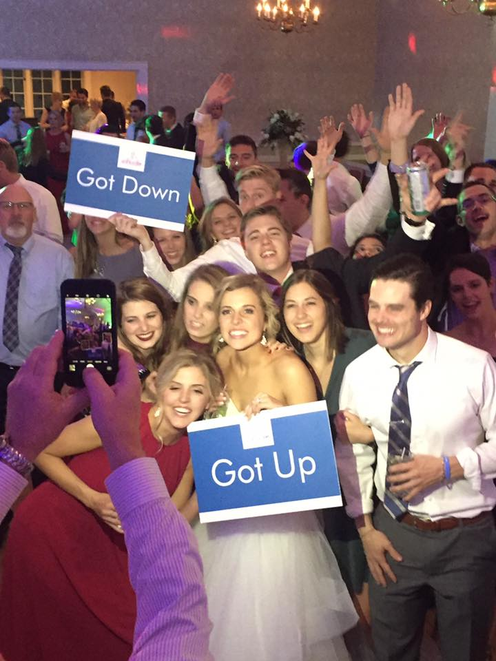 Get Up to Get Down Wedding DJ