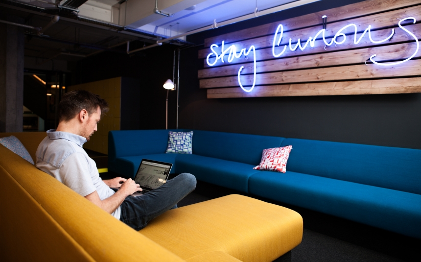 Huckletree's Shoreditch coworking space
