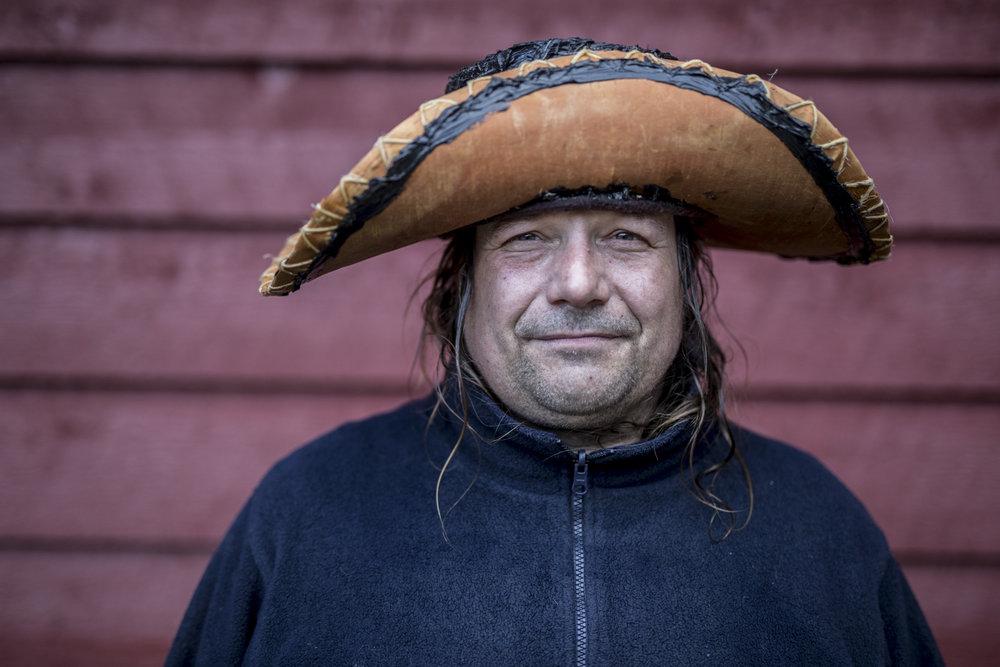 Day 1 portrait of Mike Ranta.  Photo/David Jackson