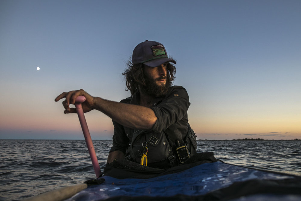 Mike Ranta departs two days after my departure from Lake Superior, Ontario. Arriving to Killarney on his birthday, Ranta revels with Johhny Z and eats fish and chips with his father. I depart for the French River via Colins inlet on Northern Georgian Bay, Lake Huron, Ontario. 20171002.  Photo/David Jackson
