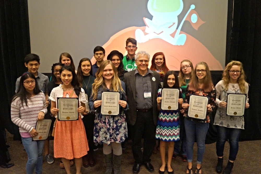 Short Story/Poetry Winners with Best Selling Author Homer Hickam.