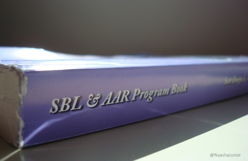 Are you ready?! AAR & SBL Annual Meeting in San Diego, November 22-25, 2014