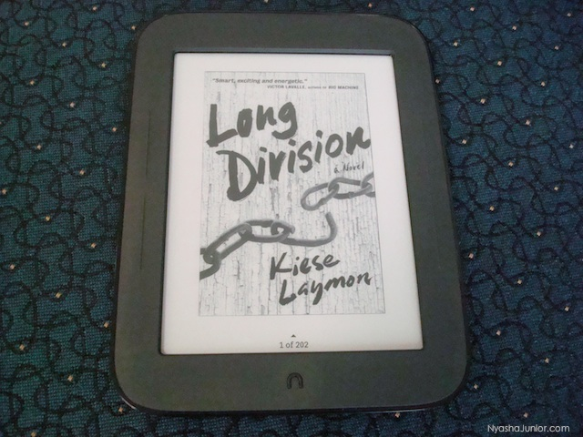 Right now, I am reading Kiese Laymon's Long Division. Hurry up and read it so that you can participate in the  Blerd Book Club 's Twitter chat with the author on Sunday, January 5th at 4:00 p.m. (EST).