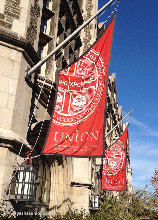I had a wonderful time interacting with  Union Theological Seminary  students. Thanks for inviting me!