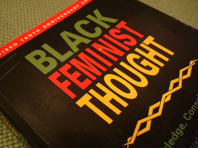 """In prior eras, African-American women's relegation to agricultural and domestic work more uniformly structured Black women's oppression as 'mules uh de world.' At the turn of the twenty-first century, work still matters, but is organized via social class formations that often place working-class and middle-class women in new, uncharted territories. Black women's ability to cooperate across class lines for collective empowerment is not new, but the ways in which those class lines have been redrawn within a global political economy is."" (p. 66) Patricia Hill-Collins,  Black Feminist Thought"