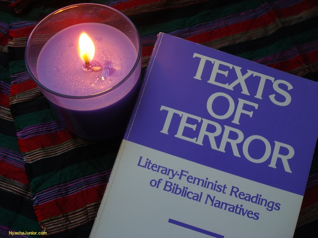 """As a critique of culture and faith in light of misogyny, feminism is a prophetic movement, examining the status quo, pronouncing judgment, and calling for repentance."" (p. 3) Phyllis Trible, Texts of Terror: Literary-Feminist Readings of Biblical Narratives"