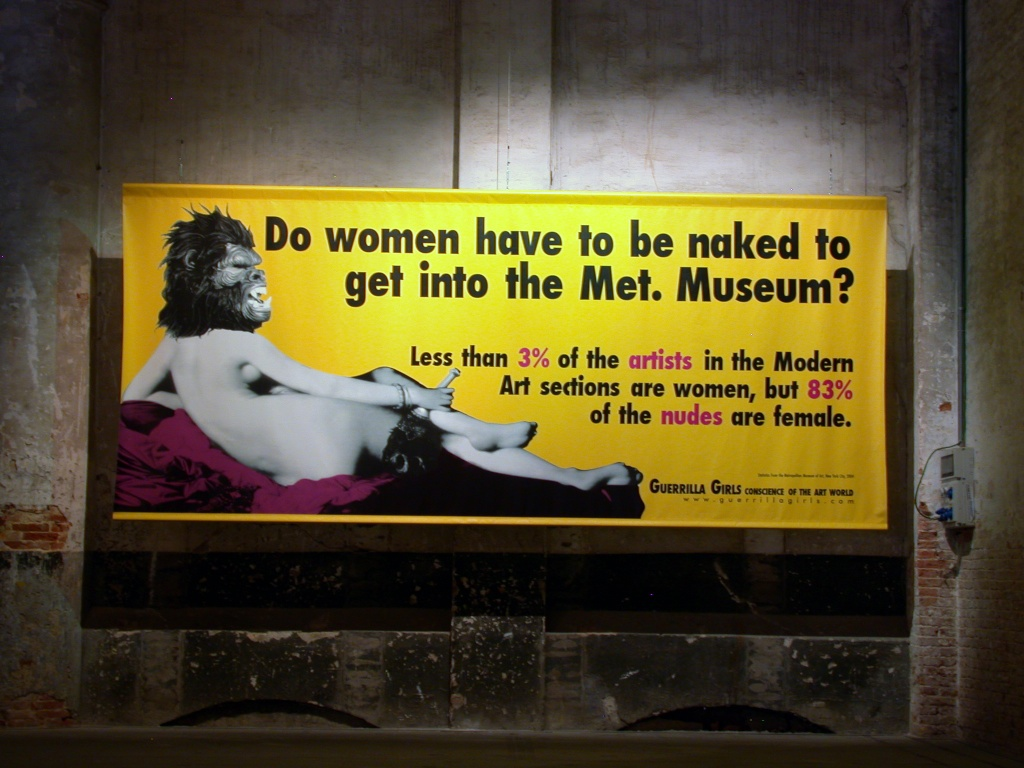 naked through the ages — Guerrilla Girls