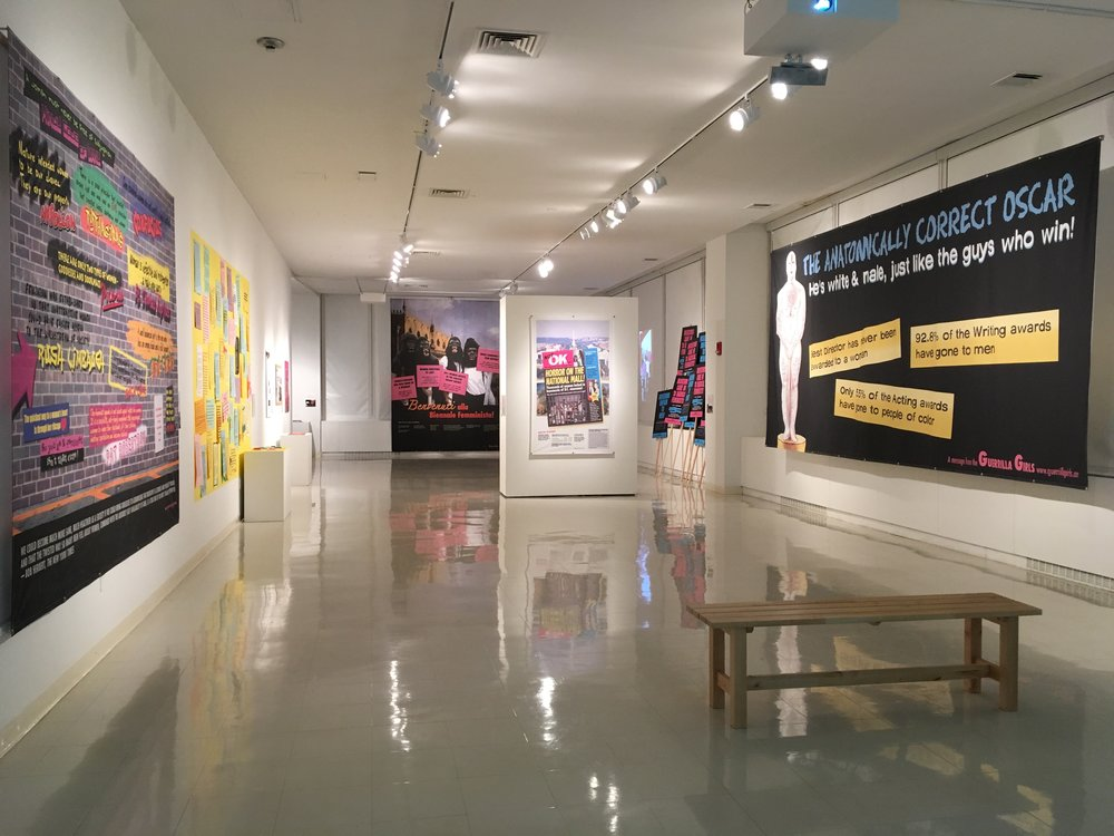 Not Ready to Make Nice: Guerrilla Girls in the Art World and Beyond, Stonybrook, NY, 2016