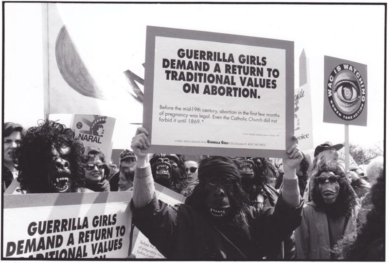 Abortion Demonstration, Washington D.C., 1992