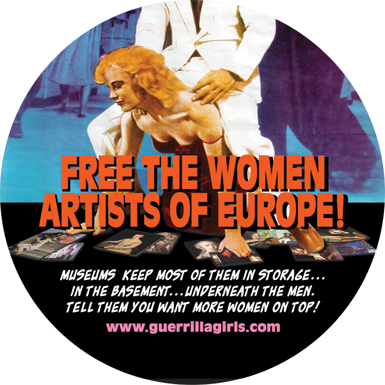 FREE THE WOMEN ARTISTS OF EUROPE!  - COASTER