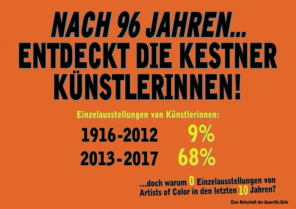 AFTER 96 YEARS KESTNERGESELLSCHAFT DISCOVERS WOMEN ARTISTS!